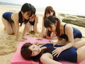 Japanese Amateurs in Girls Summer Camp Training video